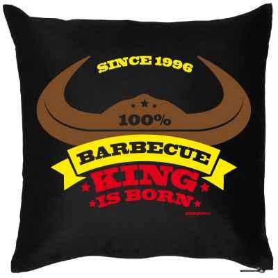 Kissen mit Füllung: since 1996 - 100 Prozent Barbecue King is born