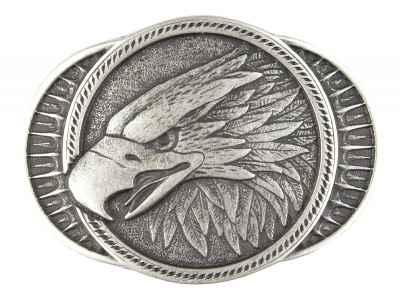 Gürtelschliesse: Adler 8,5 x 6,2 cm 40 mm