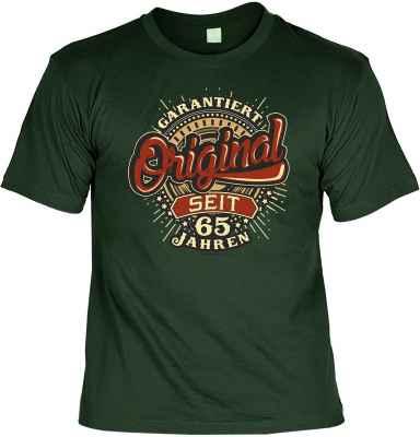 T-Shirt: Garantiert Original seit 65 Jahren