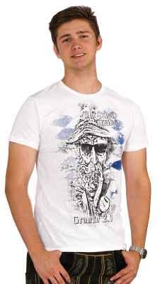 An Scheiß muaß i - Grantln 2.0 Trachten T-Shirt aus Bio Baumwolle
