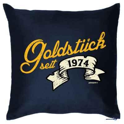Kissenbezug: Goldstück seit 1974