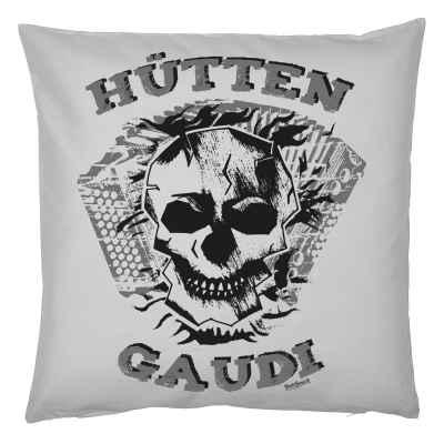 Rockiger Kissenbezug Musik: Hütten Gaudi