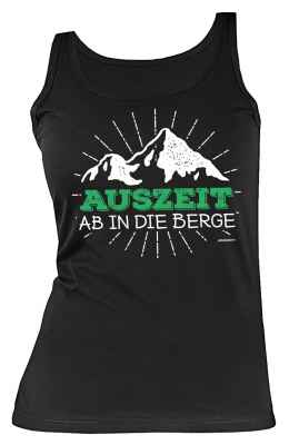 Tank Top Damen: Auszeit ab in die Berge