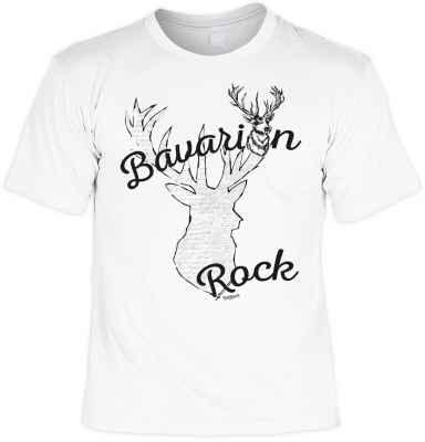 T-Shirt im Trachtenlook: Bavarian Rock
