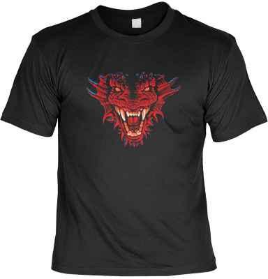T-Shirt: Dragon Head