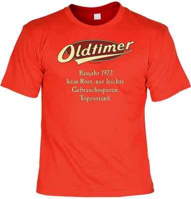 T-Shirt: Oldtimer Baujahr 1972 - kein Rost, nur leichte Gebrauchsspuren, Topzustand.
