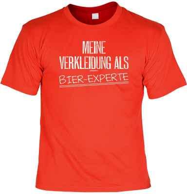 T-Shirt: Meine Verkleidung als Bier-Experte