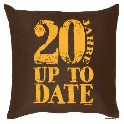 Kissenbezug: 20 Jahre up to date
