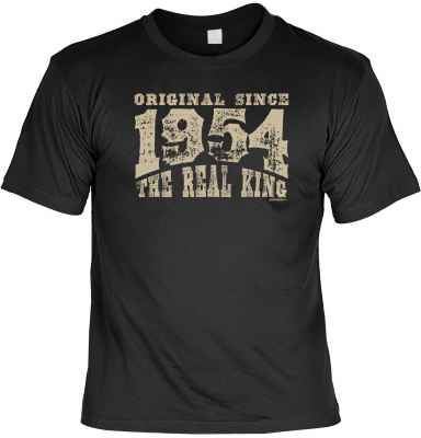 T-Shirt: Original since 1954 - The real King