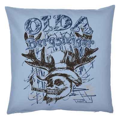 Trachten Kissenbezug: Oida Bergsteiger