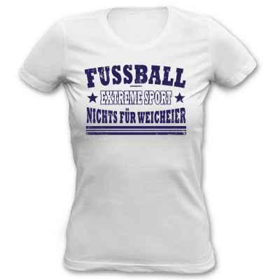 Girlie: Fussball - Extremesport - Nichts für Weicheier!