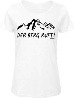 Damen Trachten T-Shirt: Der Berg ruft