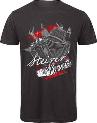 Tracht T-Shirt: Steirer Bua