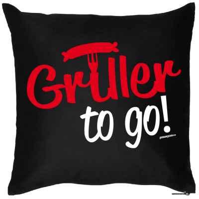 Kissen mit Füllung: Griller to go!