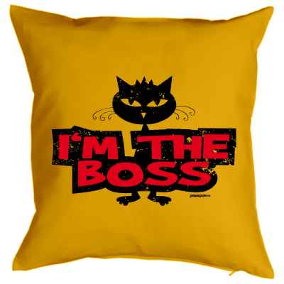 Kissenbezug: I m the Boss