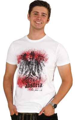 Austria - do ghea i hi Trachten T-Shirt aus Bio Baumwolle