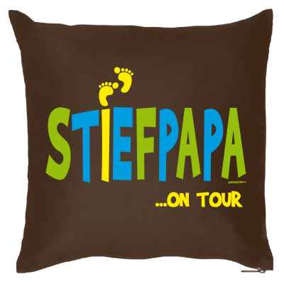Kissen mit Füllung: Stiefpapa? on Tour