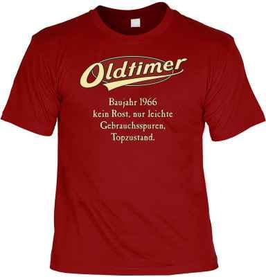 T-Shirt: Oldtimer Baujahr 1966 - kein Rost, nur leichte Gebrauchsspuren, Topzustand.