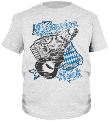 Tracht T-Shirt Jungs: Bavarian Rock