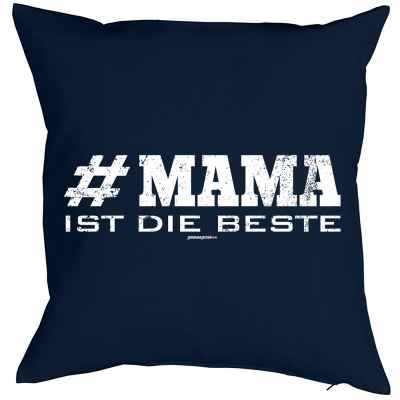 Kissenbezug: #Mama ist die Beste
