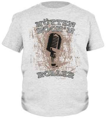 Trachten Jungen T-Shirt: Hütten Rock n Roller