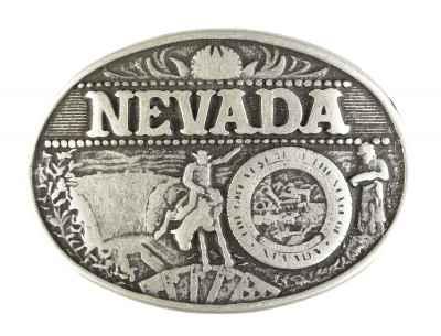 Gürtelschliesse: Nevada 8,2 x 6,5 cm
