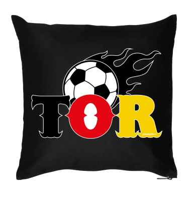 Kissen mit Füllung: Fussball - Tor
