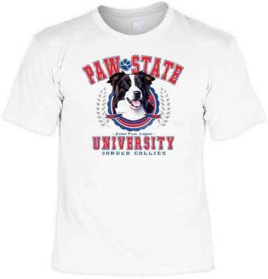 T-Shirt: Paw State University - Border Collies