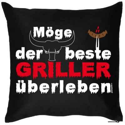 Kissen mit Füllung: Möge der beste Griller überleben!