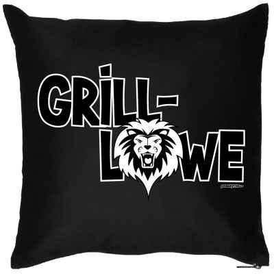 Kissen mit Füllung: Grill-Löwe