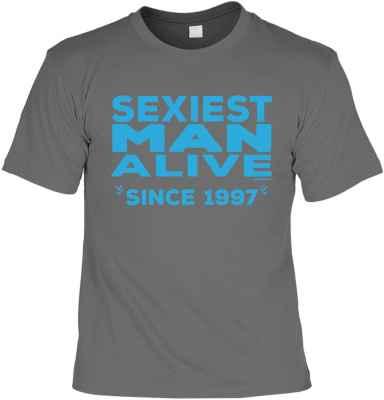 T-Shirt: Sexiest Man Alive since 1997