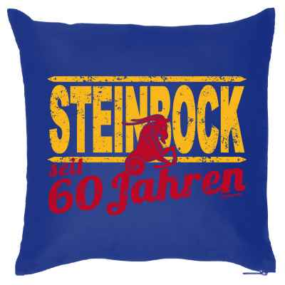 Kissenbezug: Steinbock seit 60 Jahren