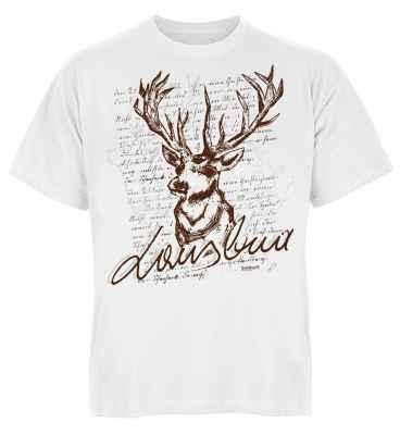 Trachten T-Shirt: Hirsch - Lausbua
