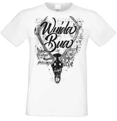 Herren T-Shirt Farbe: weiß Material: 100% Baumwolle Größen: S - 5XL