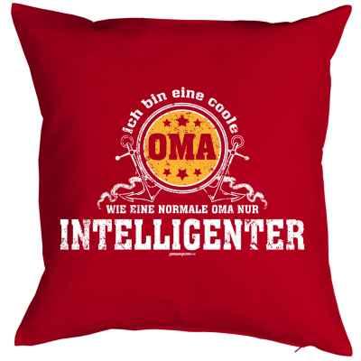 Kissenbezug: Ich bin eine Coole Oma - Wie eine normale Oma nur intelligenter