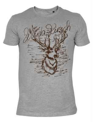 Trachten Shirt: Wuida Hirsch