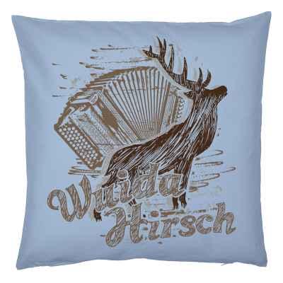 Trachten-Kissenbezug: Wuida Hirsch