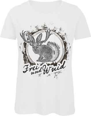 Damen Landhaus T-Shirt: Frei und Wuid