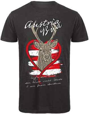 T-Shirt Trachten: Austria Bua