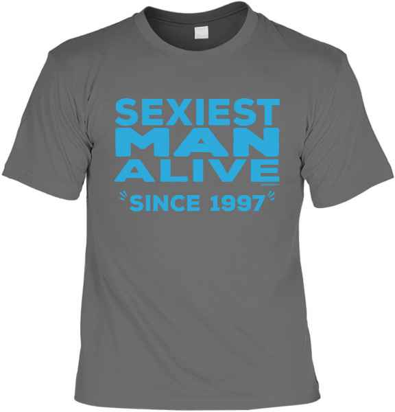 T-Shirt: Sexiest Man Alive since 1997