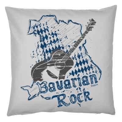 Kissenbezug mit Musik-Motiv: Bavarian Rock