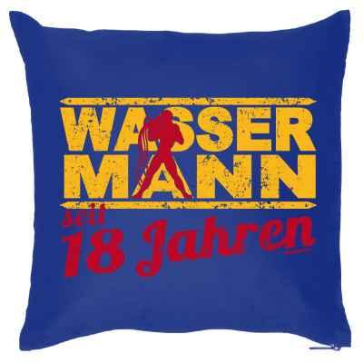 Kissenbezug: Wassermann seit 18 Jahren