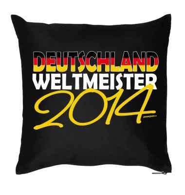 Kissen mit Füllung: Deutschland - Weltmeister 2014