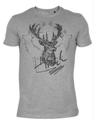T-Shirt Landhausmode: Hirsch
