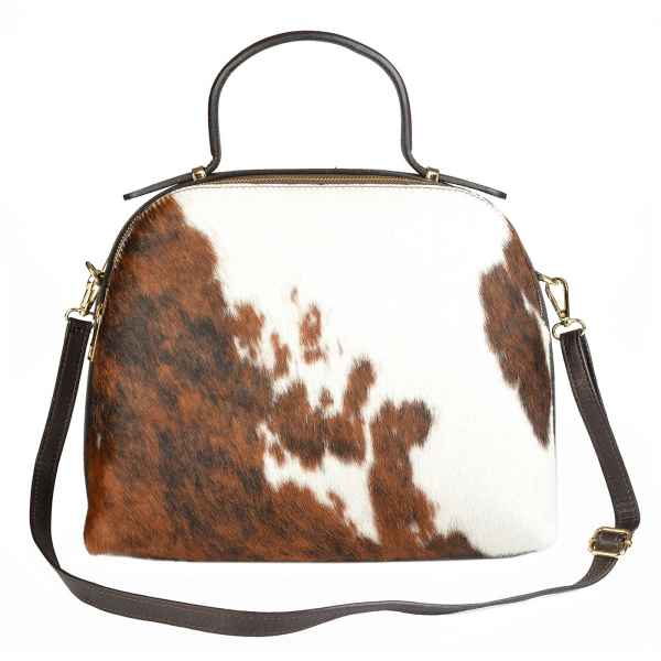 Handtasche: Kuhfelltasche groß