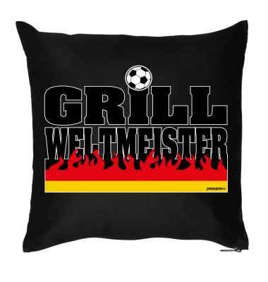 Kissen mit Füllung: Grill-Weltmeister
