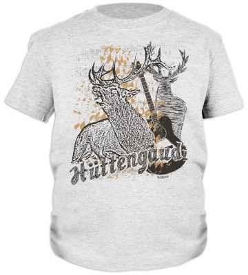 Jungen Trachten T-Shirt: Hüttengaudi