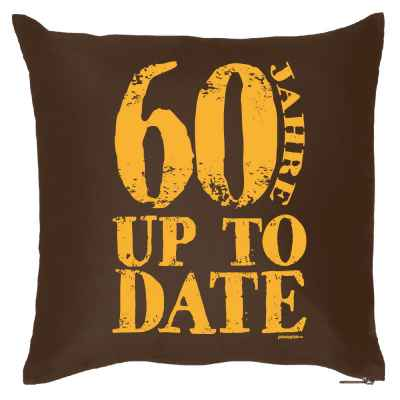 Kissenbezug: 60 Jahre up to date