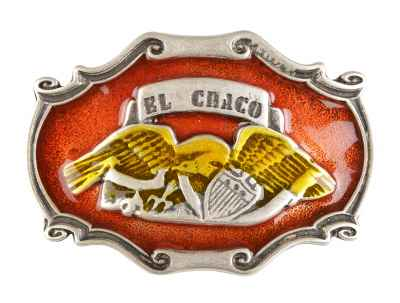 Gürtelschliesse: El Chaco 8,5 x 6 cm
