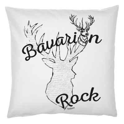 Kissenbezug Trachten: Bavarian Rock Hirsch